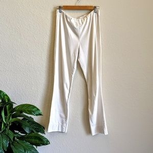 Soft Surroundings White Stretch Pants Small